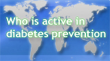 Active in diabetes prevention