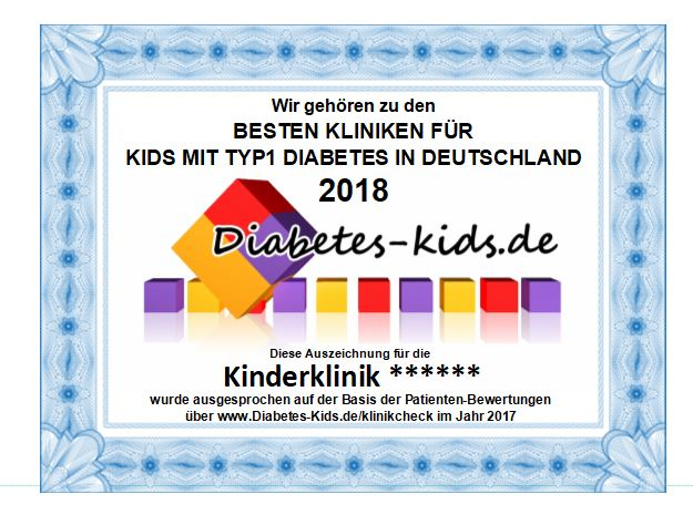 Diabetes Kids Klinik Award 2018