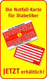 diabetes notfallausweis kostenlos